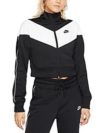 Women's Sportswear Heritage Cropped Track Jacket