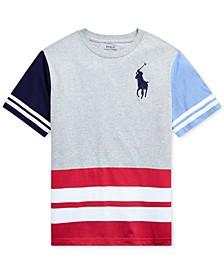 Big Boys Big Pony Cotton Jersey Graphic T-Shirt
