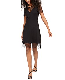 Madalyn Lula Lace-Trim Dress