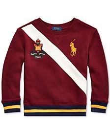 Toddler Boys Fleece Graphic Sweatshirt, Created For Macy's