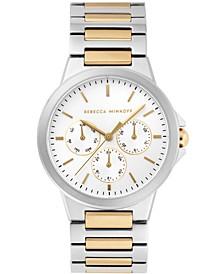 Womens Cali  Two Tone Stainless Steel Bracelet Watch 36MM