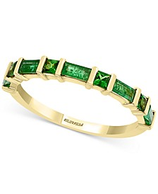 EFFY® Emerald (3/8 ct. t.w.) & Tsavorite (1/5 ct. t.w.) Ring in 14K Gold