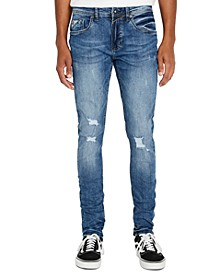 Men's Super Max-X Ripped Skinny Jeans