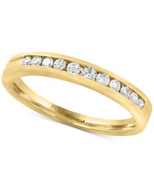 EFFY® Diamond Channel-Set Band (1/4 ct. t.w.) in 14k Gold