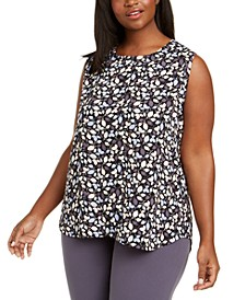 Plus Size Mayfair Printed Sleeveless Top