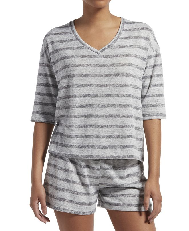 Kendall + Kylie  Long Sleeve Stripes Top, Online Only