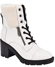 Lansly Lace-Up Booties