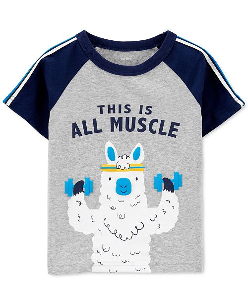 Carter's Toddler Boys Cotton All Muscle T-Shirt