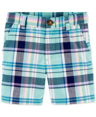 Toddler Plaid Shorts