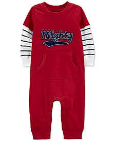 Baby Boys Mighty Layered-Look Cotton Coverall