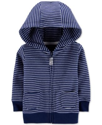 First Impressions Baby Girls Striped Zip-up Hoodie 24 Months 0-24 Months