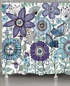 Dream Butterfly Garden Shower Curtain