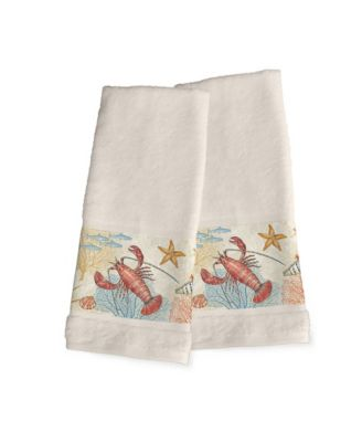 Oceana 2-Pc. Hand Towel Set