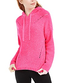 Juniors' Chenille Hoodie, Created For Macy's