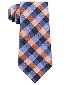 Men's Classic Gingham Check Tie