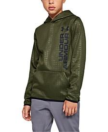 Boys' Armour Fleece® Embossed Hoodie