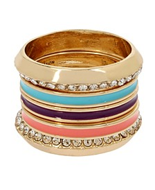 Mixed Colored Ring Set
