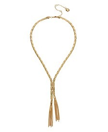 Tassel Y-Shaped Necklace