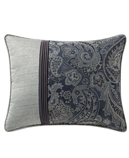 "Waterford Danehill 16"" x 20"" Pleated Decorative Pillow"