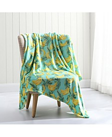 Banana  Plush Throw Blanket