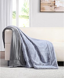 Millburn Faux Fur Throw Blanket