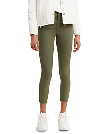 Levi's® Women's 720 Cropped Super-Skinny Jeans