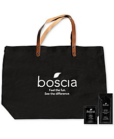 Receive a Free 3pc Skincare & Tote with any $50 purchase