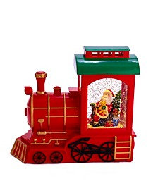 9.6-Inch Battery-Operated Train and Santa Motion Table Piece