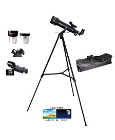 360mm x 60mm Day and Night Refractor Telescope Kit with Back Pack