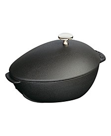 Cast Iron 2-Qt. Mussel Pot