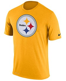 Men's Pittsburgh Steelers Legend Logo Essential 3 T-Shirt