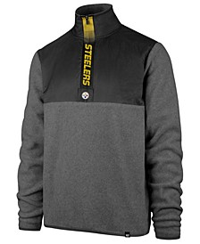 Men's Pittsburgh Steelers Alpine Fleece Quarter-Zip Pullover