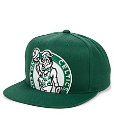 Boston Celtics Hardwood Classic Cropped Snapback Cap