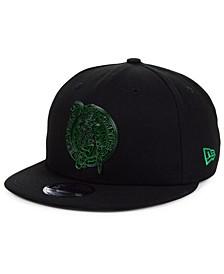 Boston Celtics Metal Crackle 9FIFTY Snapback Cap