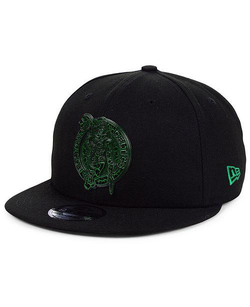 New Era Boston Celtics Metal Crackle 9FIFTY Snapback Cap