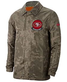 Men's San Francisco 49ers Salute to Service Light Weight Jacket