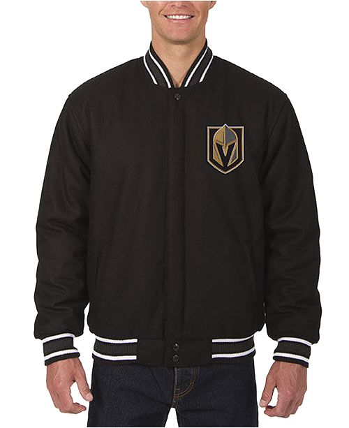 JH Design Men's Vegas Golden Knights All Wool Rev Jacket