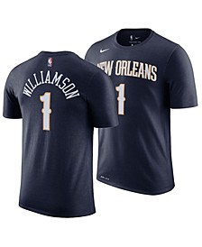 Men's Zion Williamson New Orleans Pelicans Icon Player T-Shirt