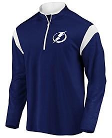 Men's Tampa Bay Lightning Defender Half-Zip Pullover