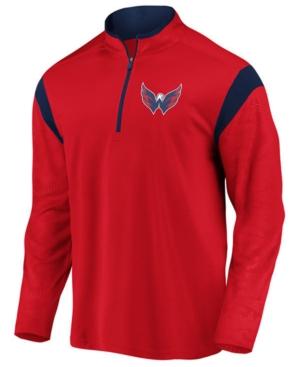 Men's Washington Capitals Defender Half-Zip Pullover