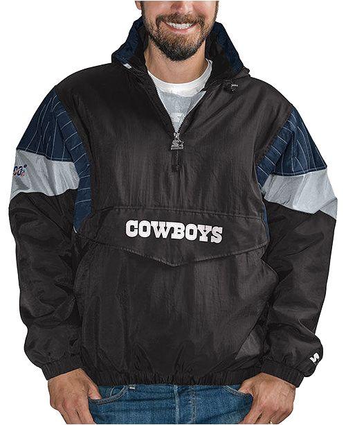 Starter Men's Dallas Cowboys 100th Anniversary Breakaway Pullover Jacket