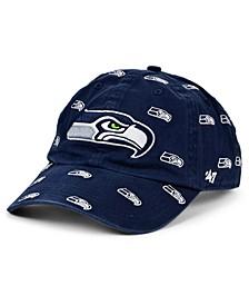 Women's Seattle Seahawks Confetti Strapback Cap