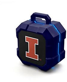 Prime Brands Illinois Fighting Illini Shockbox LED Speaker