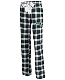 Women's New York Jets Piedmont Flannel Pajama Pants