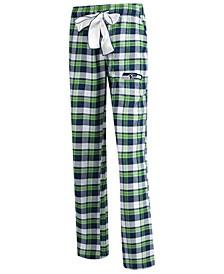 Women's Seattle Seahawks Piedmont Flannel Pajama Pants