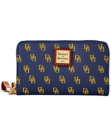 Gretta Signature  Zip Around Phone Wristlet