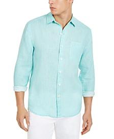 Men's Sea Glass Breezer Linen Shirt