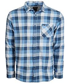 Men's Basic Fly Flannel Shirt