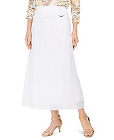 Gauze O-Ring Skirt, Created For Macy's