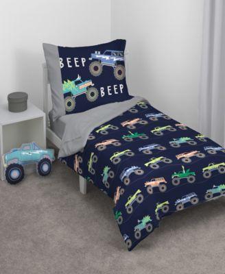Monster Truck Decorative Pillow